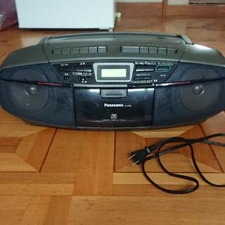 パナソニック(Panasonic)の中古品 Panasonic RX-DT35-H CDプレイヤー CDラジカセ(ポータブルプレーヤー)