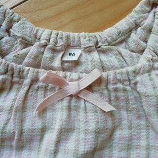 ムジルシリョウヒン(MUJI (無印良品))の寝間着女のコ 90サイズ(パジャマ)