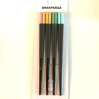 イケア(IKEA)のSMAKFRÅGA スマークフローガ 箸 4膳(カトラリー/箸)