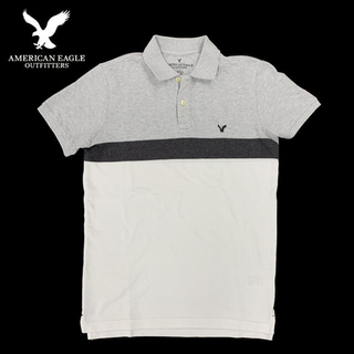 American Eagle - アメリカンイーグル / ポロシャツ / US Sサイズ 白