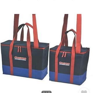 コストコ(コストコ)のコストコ 保冷保温ショッピングバッグ 2個セット ネイビー レッド(その他)