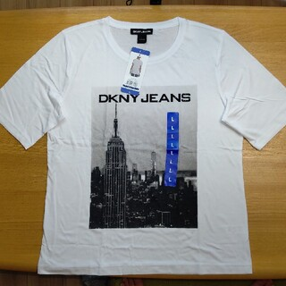 ダナキャランニューヨーク(DKNY)のDKNY レディース 半袖 部屋着 Tシャツ スポーツウェア Lサイズ(Tシャツ(半袖/袖なし))