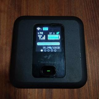 FUJISOFT FS030W SIMフリー モバイルWifi(その他)