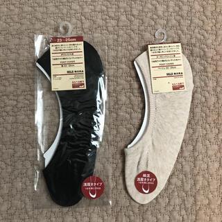 ムジルシリョウヒン(MUJI (無印良品))の無印 フットカバー 靴下 2点セット(ソックス)