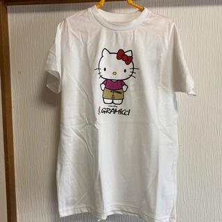 グラミチ(GRAMICCI)のGRAMiCCi×キティ/タグ付き新品半袖Tシャツ/グラミチ(Tシャツ/カットソー)