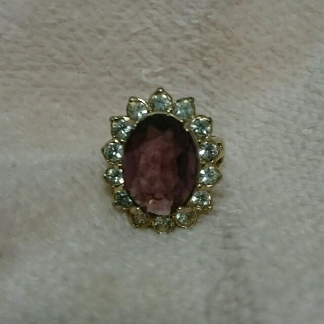 ジルコン 指環 レディースのアクセサリー(リング(指輪))の商品写真
