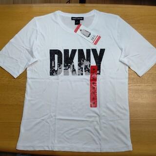 ダナキャランニューヨーク(DKNY)のDKNY レディース 半袖 Tシャツ スポーツウェア 部屋着 Mサイズ(Tシャツ(半袖/袖なし))
