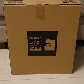 ツインバード(TWINBIRD)のツインバード CM-D465B ブラック(コーヒーメーカー)