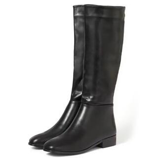 グレイル(GRL)のGRL スクエアトゥミドル丈ブーツ(ブーツ)