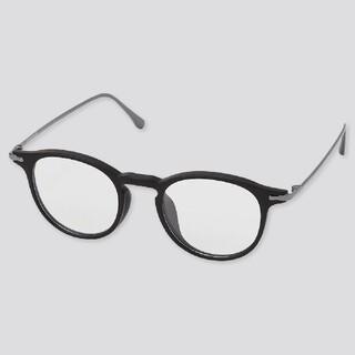ユニクロ(UNIQLO)の新品 ユニクロ ボストン サングラス クリアサングラス メガネ 眼鏡(サングラス/メガネ)
