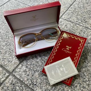 カルティエ(Cartier)のカルティエ マルメゾンウッド 眼鏡フレーム Cartier malmaison(サングラス/メガネ)