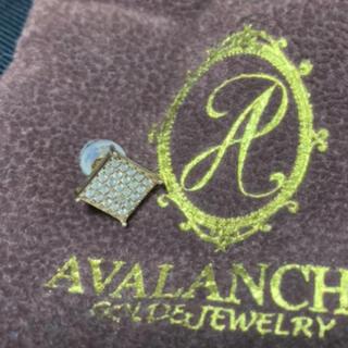 アヴァランチ(AVALANCHE)のavalanche アヴァランチ 10金 10k ピアス(ピアス(片耳用))