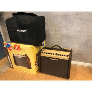 ローランド(Roland)の【美品】FISHMAN LOUDBOX MINI 別売カバー付き(ギターアンプ)