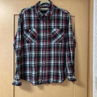 カンサイヤマモト(Kansai Yamamoto)のKANSAI JENS チェックシャツ LL(シャツ)