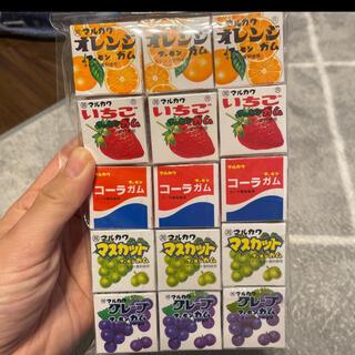 フーセンガム グレープ コーラ オレンジ いちご マスカット セット(菓子/デザート)