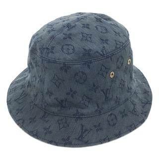 ルイヴィトン(LOUIS VUITTON)のルイヴィトン MP2441 シャポー モノグラム デニム リバーシブル ハット帽(ハット)
