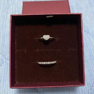 ジュエリーツツミ(JEWELRY TSUTSUMI)のジュエリーツツミ K10WG ダイヤモンドリング(リング(指輪))