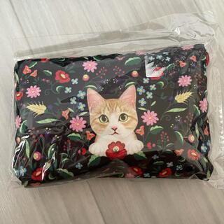 フェリシモ(FELISSIMO)の猫部エコバック新品(エコバッグ)