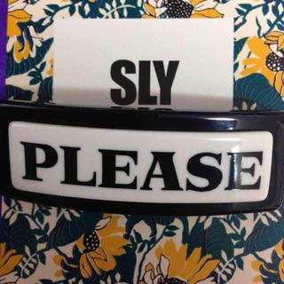 スライ(SLY)のスライ sly バレッタ(ヘアピン)