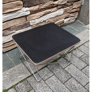 イームズ LTRT テーブル ローテーブル ミニテーブル サイドテーブル 黒/銀(ローテーブル)