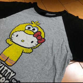 セサミストリート(SESAME STREET)のキティ×セサミストリートコラボラグランT(Tシャツ(半袖/袖なし))