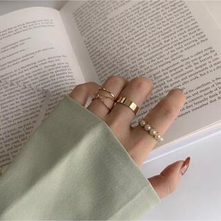 イエナ(IENA)の【セット売り】ゴールドバラエティリング (リング(指輪))