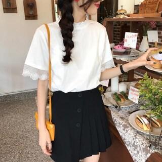 ゴゴシング(GOGOSING)のフリルトップス(Tシャツ(半袖/袖なし))