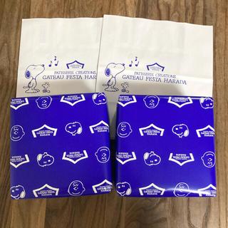 スヌーピー(SNOOPY)のスヌーピー ラスク ガトーフェスタハラダ  グーテ・デ・ロワ 化粧缶ミニ(菓子/デザート)