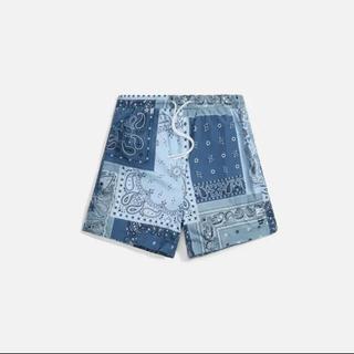 シュプリーム(Supreme)のKith Printed Active Swim Short Indigo(水着)