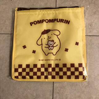 ポムポムプリン(ポムポムプリン)のポムポムプリン★サンリオ★保冷バッグ(弁当用品)