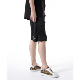 ユニフォームエクスペリメント(uniform experiment)のuniform experiment  DRIPPING SHORTS ブラック(ショートパンツ)