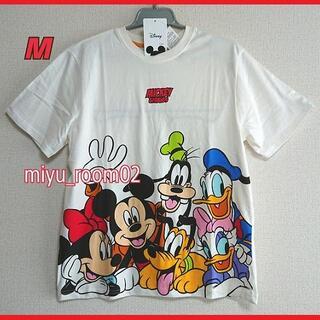 ミッキーマウス(ミッキーマウス)の【新品☆】ミッキー&フレンズ Tシャツ(男女兼用)☆М(Tシャツ/カットソー(半袖/袖なし))