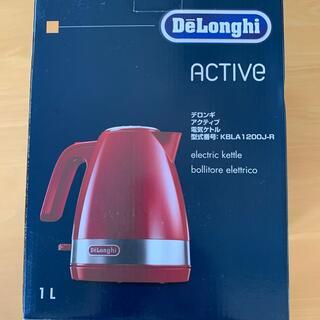 DeLonghi - デロンギ  アクティブ電気ケトル  KBLA1200j-R