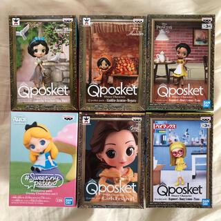 ディズニー(Disney)のqposket petit ディズニー 新品未開封 6個セット(アニメ/ゲーム)