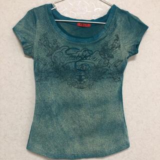 カーム(CALM)のCALM  ターコイズ Tシャツ(Tシャツ(半袖/袖なし))