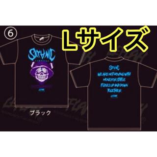 ワニマ(WANIMA)のサタニックカーニバル 18 LEFLAH レフラー コラボ Tシャツ Lサイズ(Tシャツ/カットソー(半袖/袖なし))