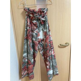 ヴィヴィアンウエストウッド(Vivienne Westwood)のVivienneWestwood RedLabel 総柄パンツ(バギーパンツ)