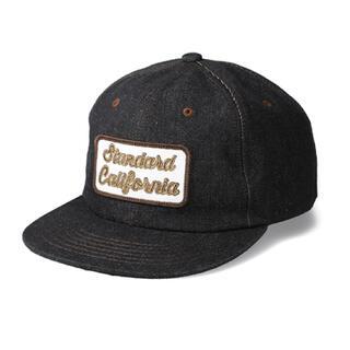 スタンダードカリフォルニア(STANDARD CALIFORNIA)のSTANDARD DENIM CAP デニムキャップ 帽子(キャップ)