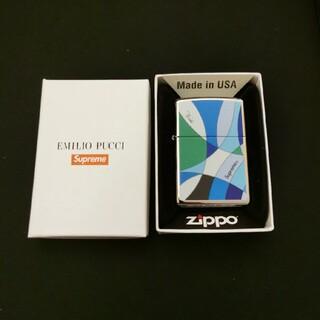 """Supreme - Supreme / Emilio Pucci® Zippo® """"Blue"""""""