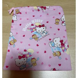サンリオ(サンリオ)の巾着袋*小*キティ(ピンク)(ポーチ)