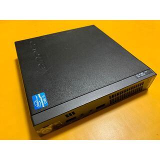 レノボ(Lenovo)のLenovo ThinkCentre M72e Tiny(デスクトップ型PC)