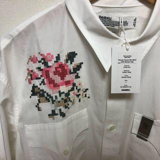 Jieda - 【新品】DAIRIKU 21AW Flower Cross Em Shirt