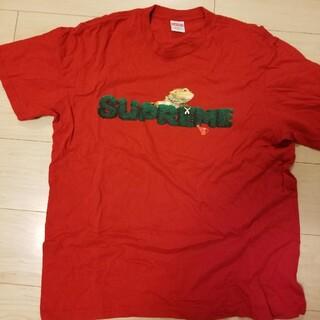 シュプリーム(Supreme)のSupreme Lizard Tee シュプリーム カメレオン Tシャツ(Tシャツ/カットソー(半袖/袖なし))