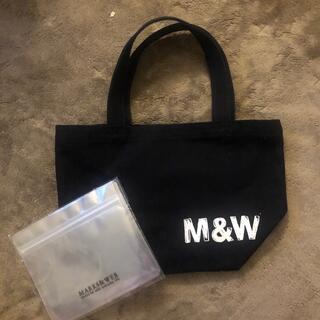 マークスアンドウェブ(MARKS&WEB)の新品 マークスアンドウェブ バッグ&おまけジップバッグ(トートバッグ)