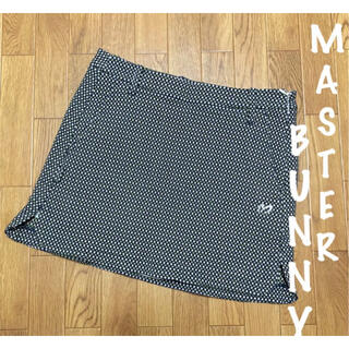 パーリーゲイツ(PEARLY GATES)の美品⛳マスターバニー  総柄  ドビーストレッチ  ゴルフスカート  レディース(ウエア)
