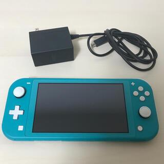 ニンテンドースイッチ(Nintendo Switch)の最安値!!☆ニンテンドースイッチライト ターコイズブルー☆(携帯用ゲーム機本体)