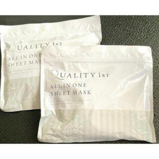 クオリティファースト(QUALITY FIRST)のクオリティファーストのオールインワンシートマスク30枚 2袋(パック/フェイスマスク)