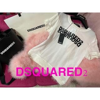 ディースクエアード(DSQUARED2)の❤️ディースクエアード❤️ミラーロゴ 半袖 カットソー新品未使用(Tシャツ(半袖/袖なし))