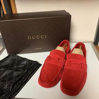 Gucci - 美品 GUCCI グッチ ドレスシューズ ローファー サイズ8 G