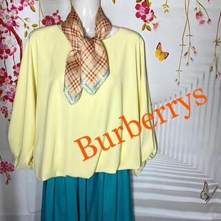 バーバリー(BURBERRY)のバーバリーズ Burberrys  バーバリーチェック シルクスカーフ(バンダナ/スカーフ)